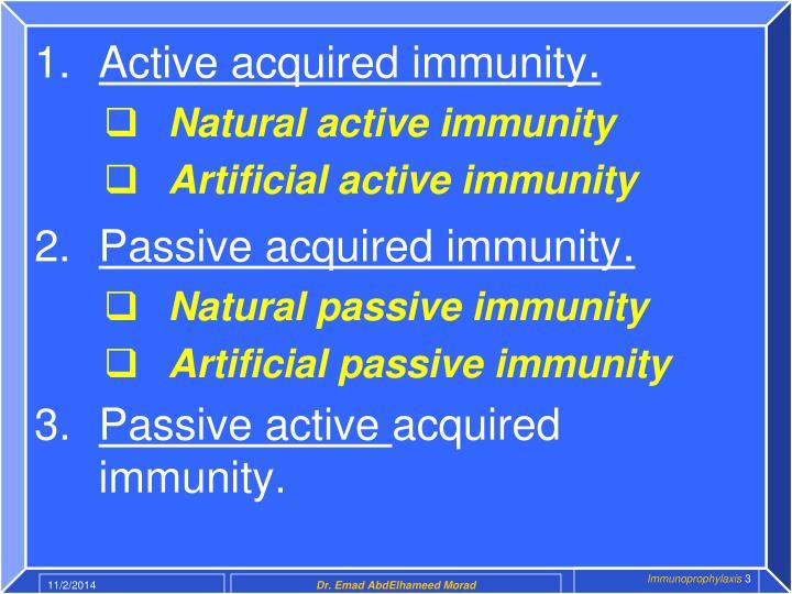 Ppt Immunoprophylaxis Powerpoint Presentation Id6123328