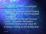 3 strategi rejuvenation bangkit