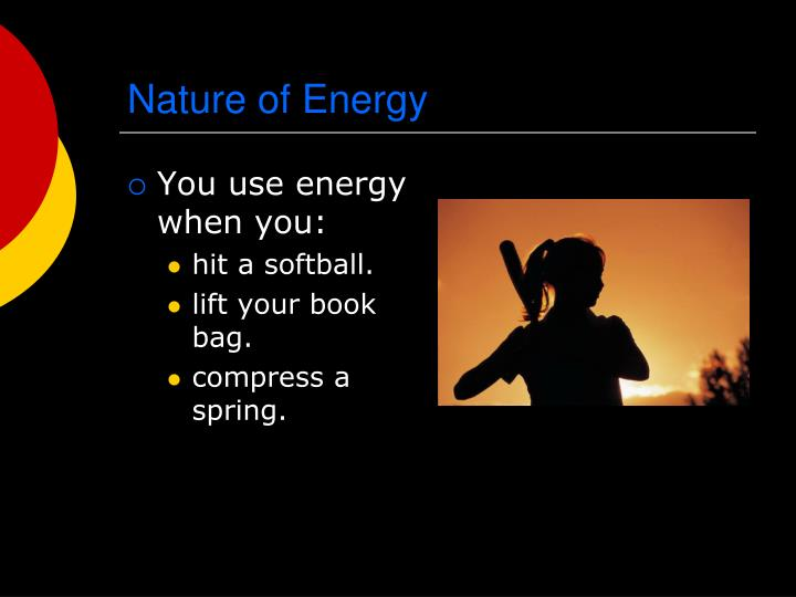 Nature of energy1