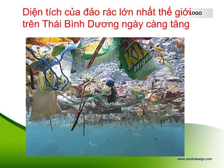 Diện tích của đảo rác lớn nhất thế giới trên Thái Bình Dương ngày càng tăng