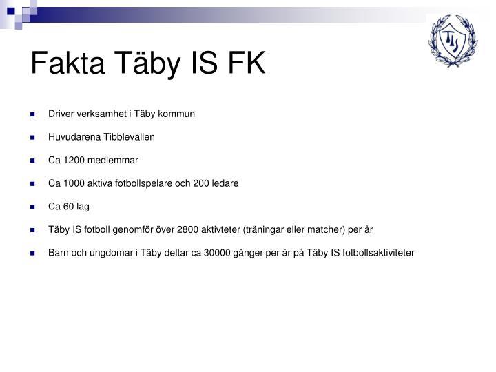 Fakta Täby IS FK