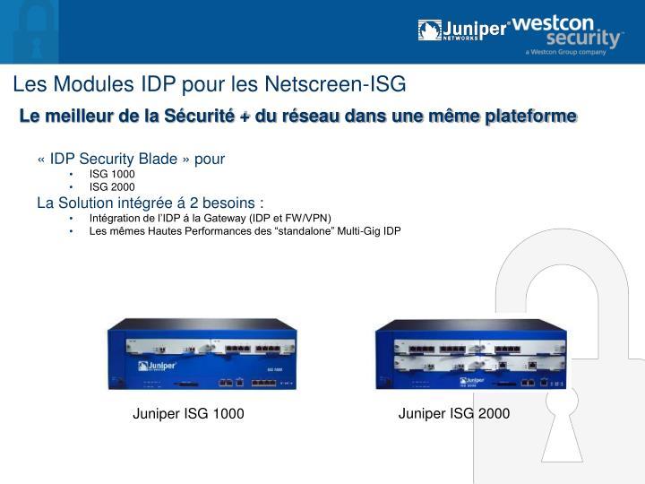Juniper ISG 1000