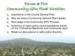 forum five community gpu final direction