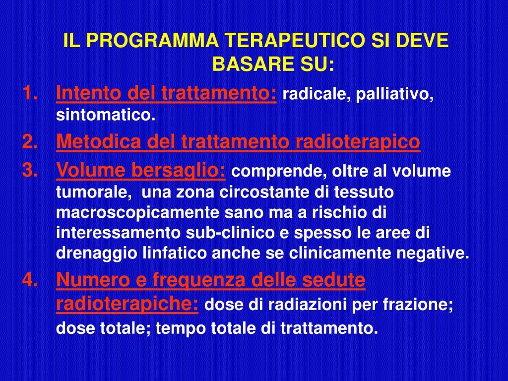 PPT - INTRODUZIONE ALLA RADIOTERAPIA PowerPoint ...
