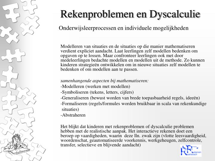 Rekenproblemen en dyscalculie2