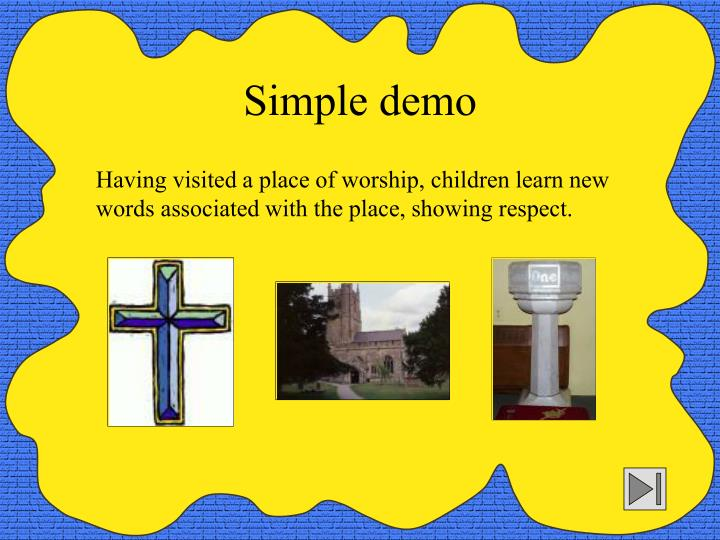 Simple demo