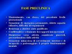 fase preclinica