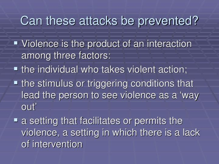 Can these attacks be prevented?