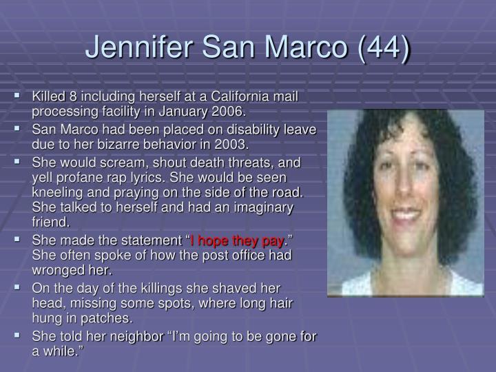 Jennifer San Marco (44)