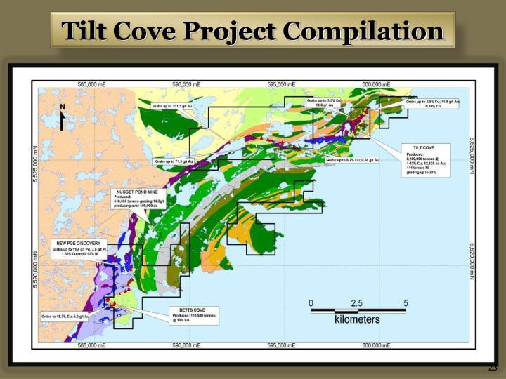 Tilt Cove Project Compilation