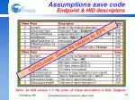 assumptions save code endpoint hid descriptors1