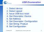 usb enumeration