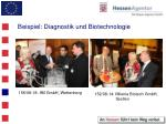 beispiel diagnostik und biotechnologie