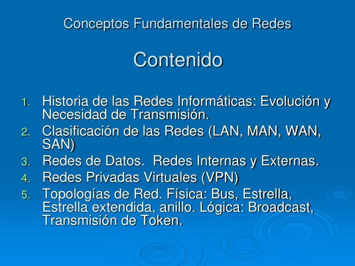 Conceptos fundamentales de redes1