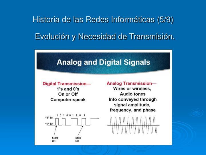 Historia de las Redes Informáticas (5/9)
