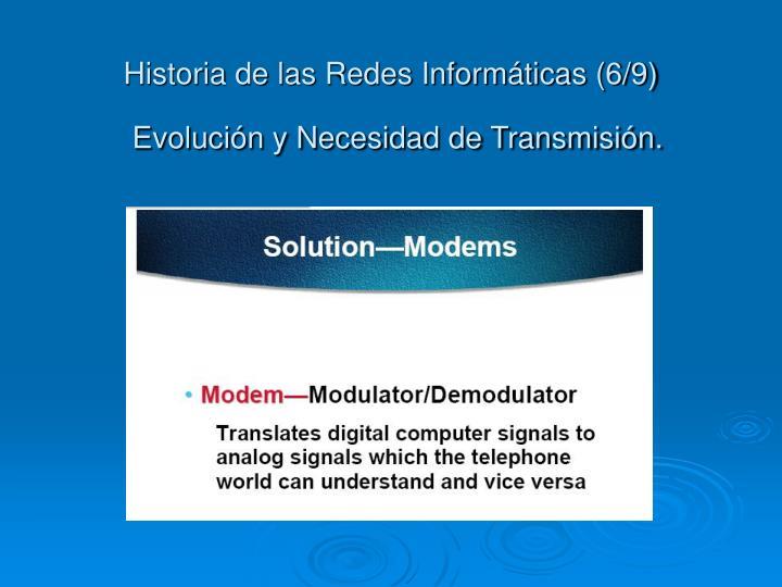 Historia de las Redes Informáticas (6/9)