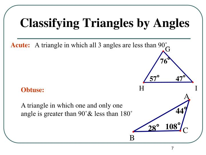 A triangle in which all 3 angles are less than 90˚.