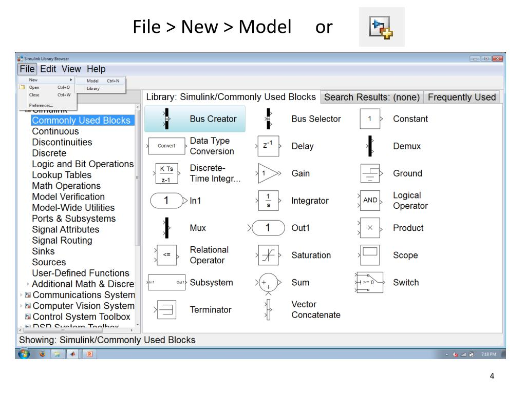 PPT - Simulink PowerPoint Presentation - ID:6126401