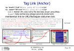 tag link anchor