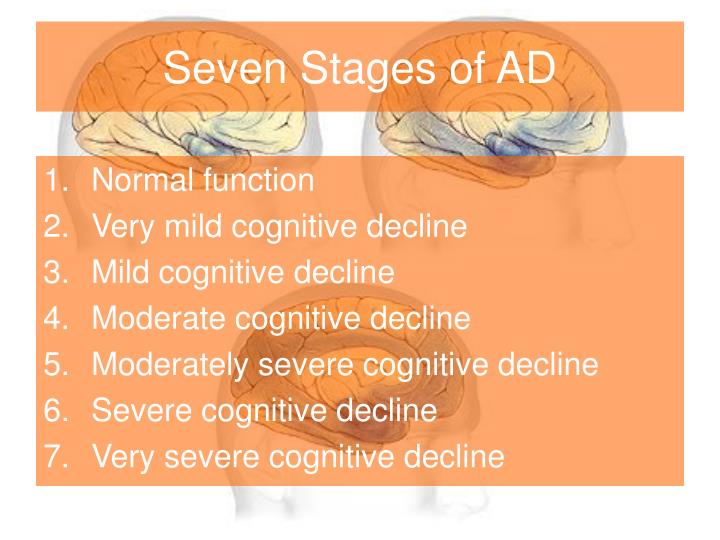 Seven Stages of AD