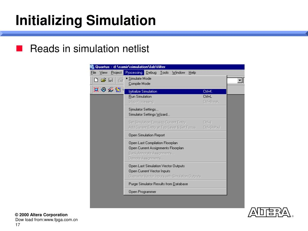 PPT - Quartus Simulator PowerPoint Presentation - ID:6127424