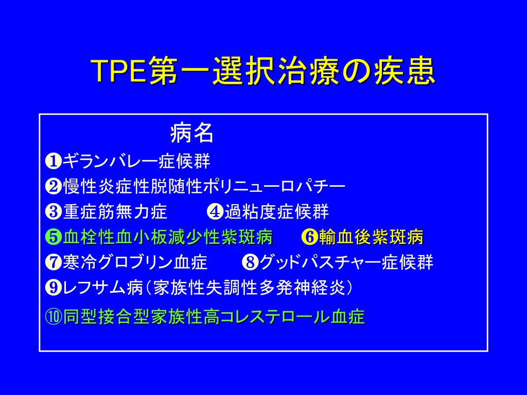 血漿交換療法 - PowerPoint PPT Presentation