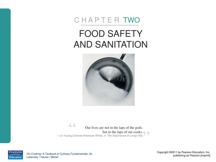 food sanitation chapter 2