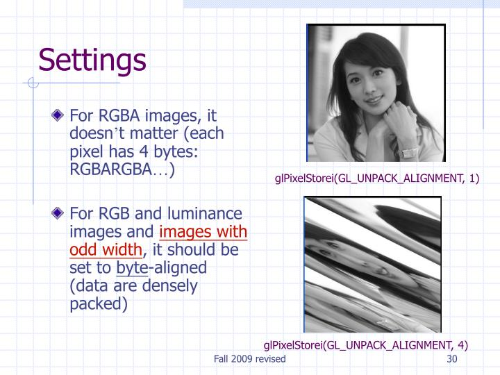 For RGBA images, it doesn