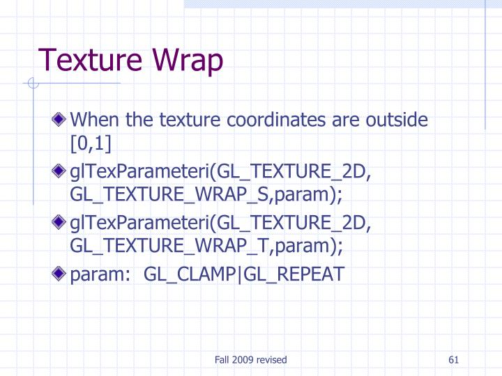Texture Wrap
