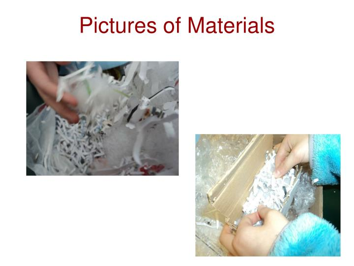 Pictures of Materials