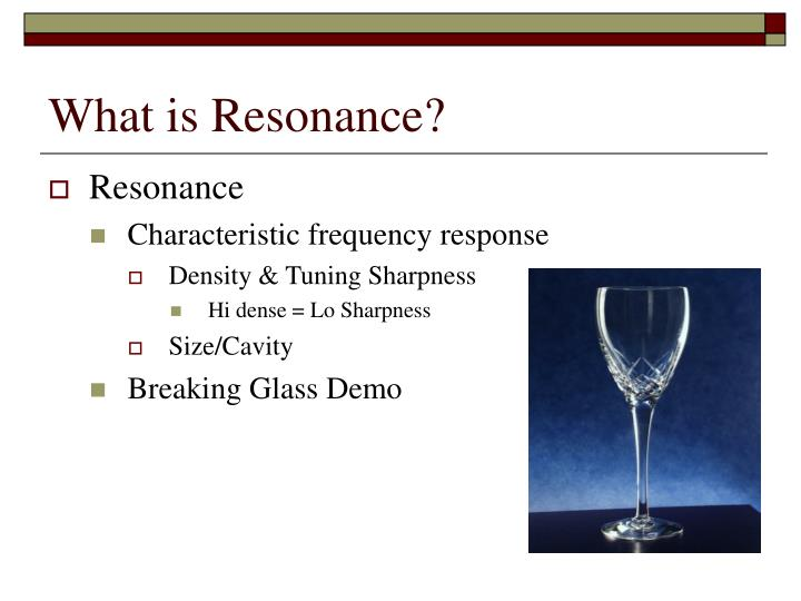 What is resonance