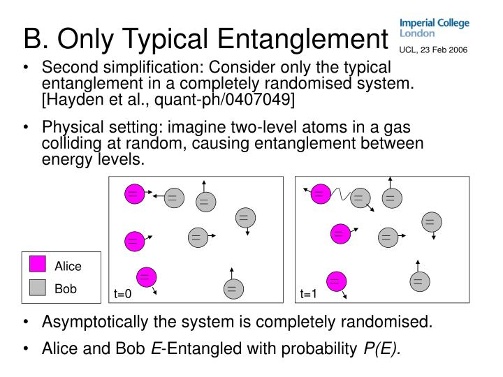B. Only Typical Entanglement