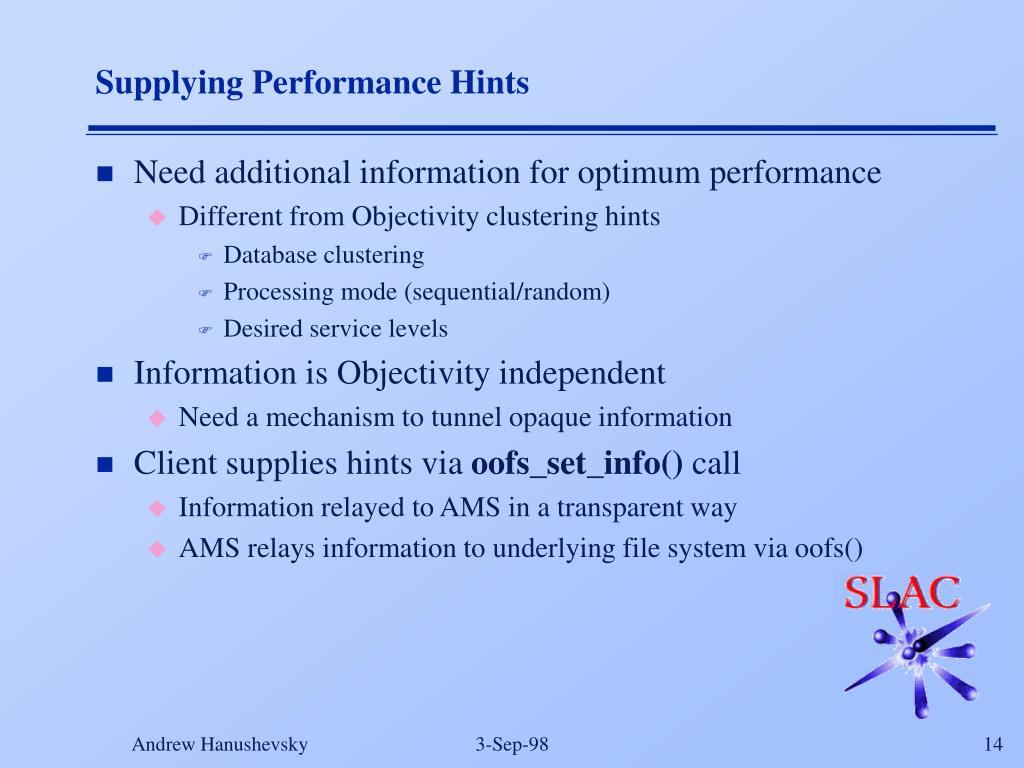 PPT - Developing Scalable High Performance Petabyte Distributed