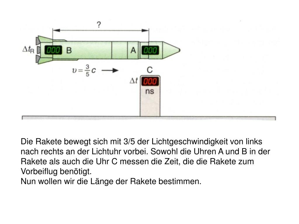 raketen uhr
