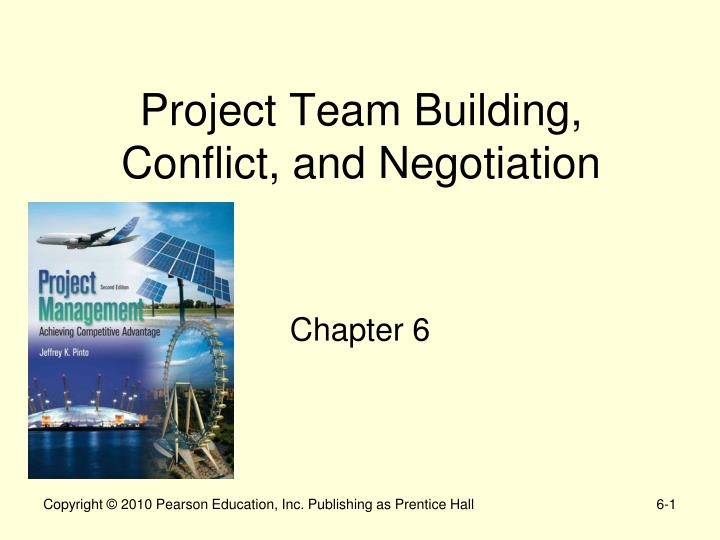 project team building conflict and negotiation n.