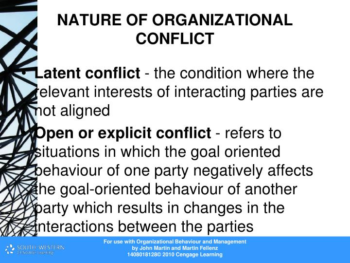 conflict organization and positive outcomes Toxic individuals, feeble leadership and how positive outcomes could be reached from something so if organizations invest in conflict.