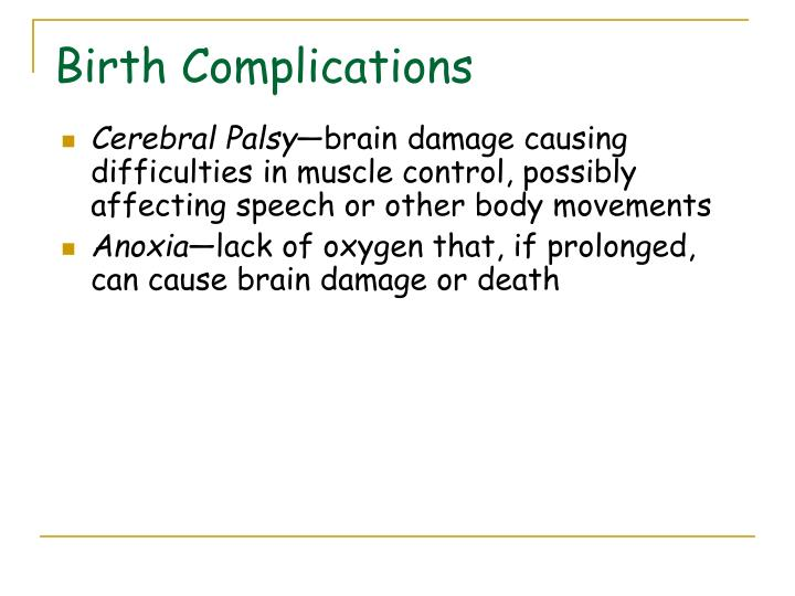 Birth Complications