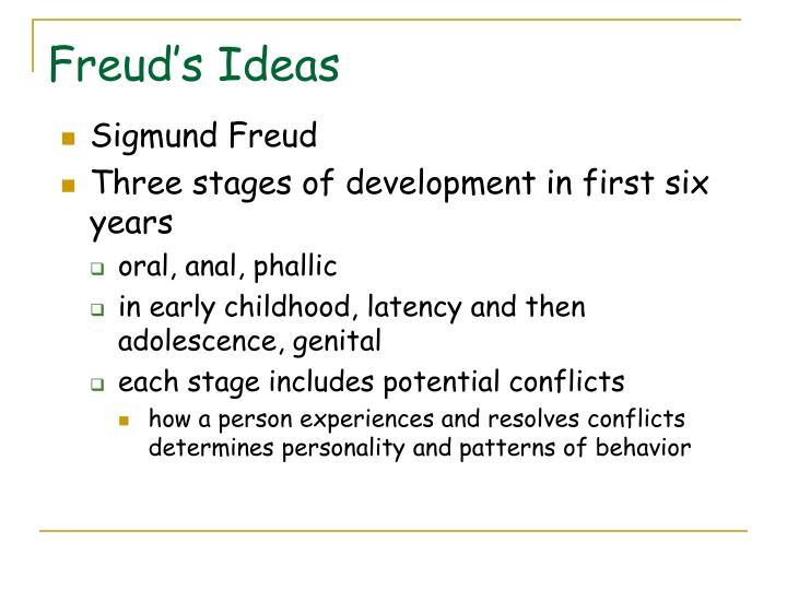 Freud's Ideas