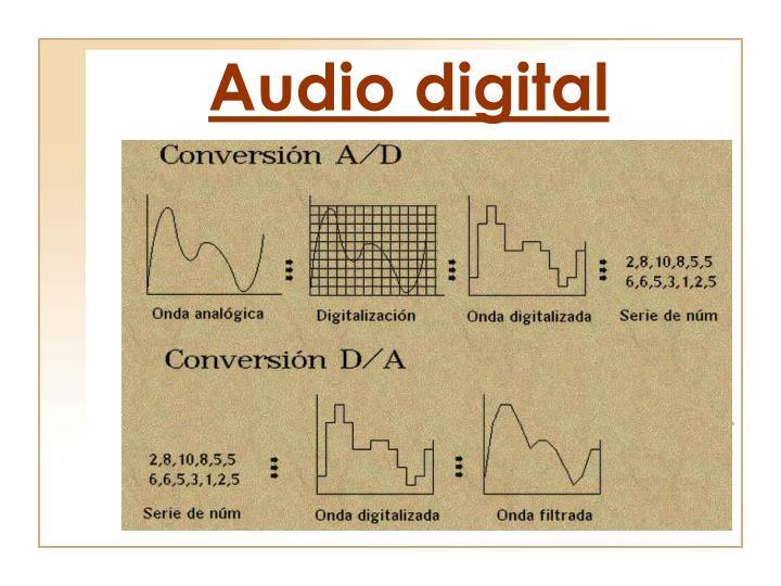 Audio digital