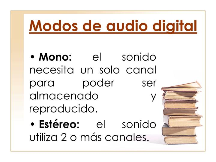 Modos de audio digital