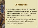 a parity bit