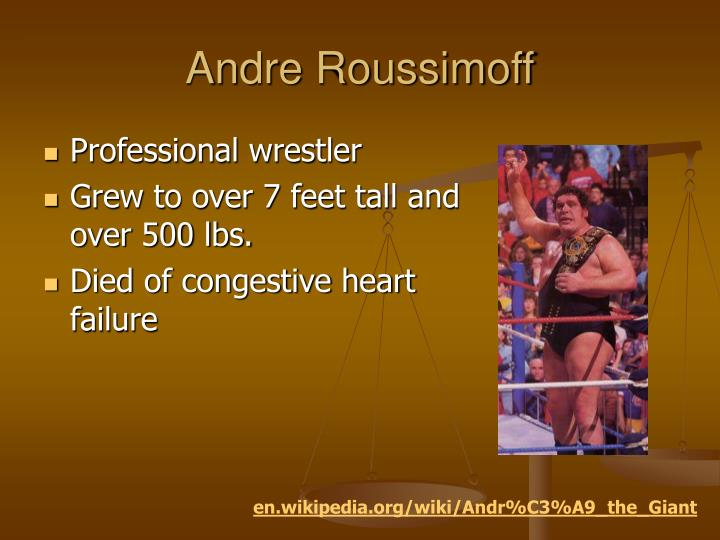 Andre Roussimoff