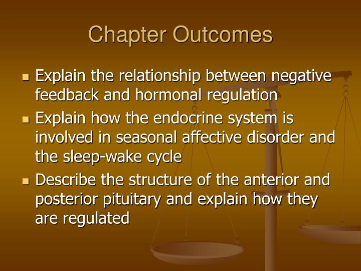 Chapter outcomes1