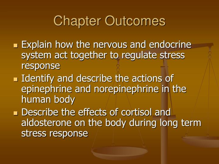 Chapter Outcomes
