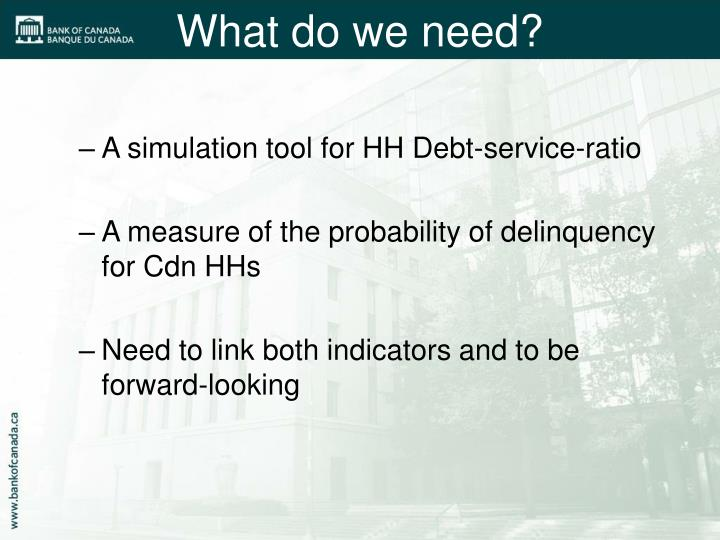 A simulation tool for HH Debt-service-ratio