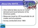 about the nhts