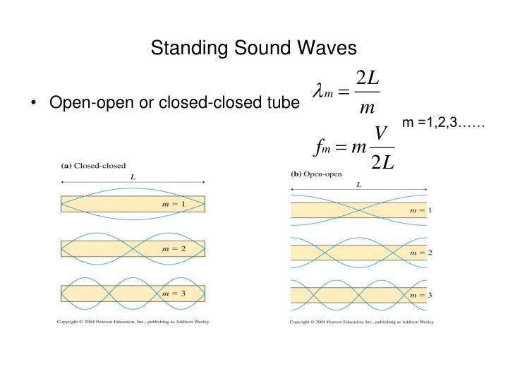 Standing Sound Waves