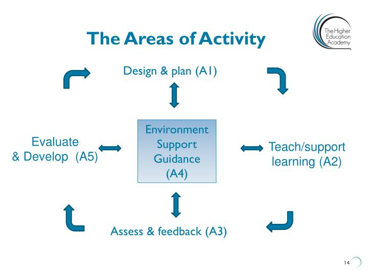 The Areas of Activity