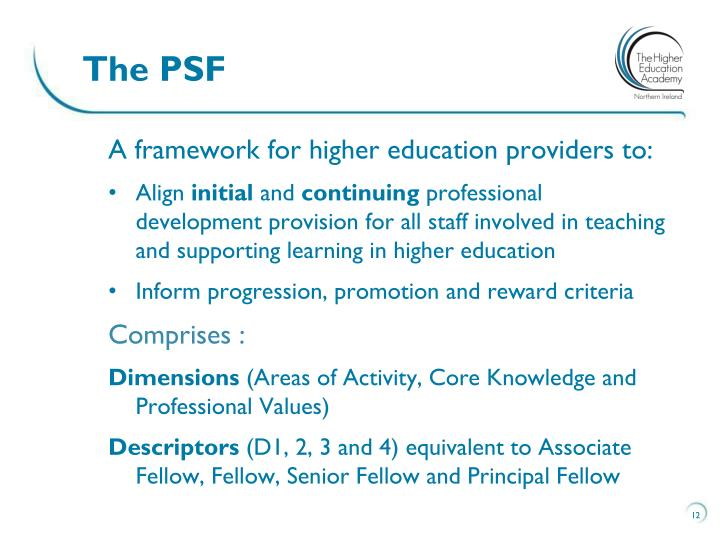 The PSF