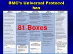 bmc s universal protocol has